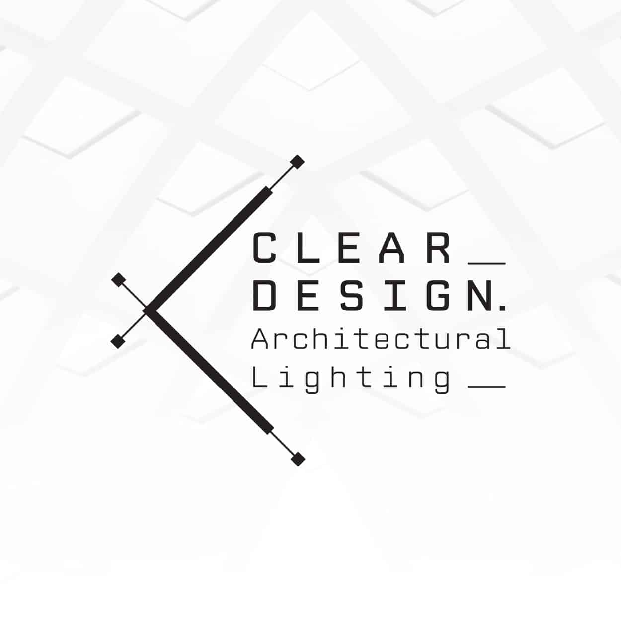 Let's Design Studio Nadia Ornstein - Clear Led Design Lightning's architecture Branding Visual Language