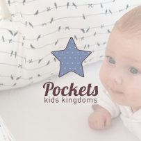 Let's Design Nadia Ornstein - Pockets - Kids Kingdom Visual Branding
